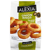Alexia Crispy Onion Rings with Panko and Sea Salt
