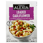 Alexia Loaded Cauliflower with White Cheddar & Bacon