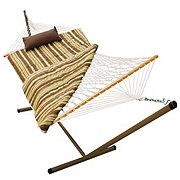 Algoma Rope Hammock Pad Pillow & Stand