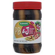 Algood PB&J Strawberry Jelly & Peanut Butter