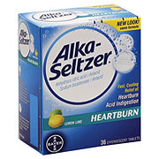 Alka-Seltzer Lemon Lime Heartburn Relief Tablets