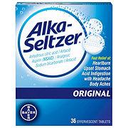 Alka-Seltzer Original Effervescent Tablets
