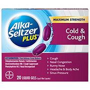 Alka-Seltzer Plus Cold & Cough Formula Liquid Gels