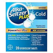 Alka-Seltzer Plus Cold Sparkling Original Tablets