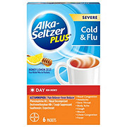 Alka-Seltzer Plus Day Severe Cold Flu Berry Fusion