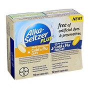 Alka-Seltzer Plus Dye Free Day & Night Multi-Symptom Cold & Flu Liquid Gels