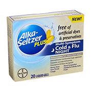 Alka-Seltzer Plus Dye Free Night Cold & Flu Liquid Gels