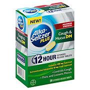Alka-Seltzer Plus Maximum Strength Cough & Mucus 12 Hour