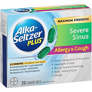 Alka-Seltzer Plus Maximum Strength Severe Sinus Allergy & Cough Liquid Gels