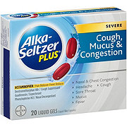 Alka-Seltzer Plus Severe Cough Mucus & Congestion Liquid Gels