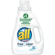 All 2X Free & Clear Liquid Detergent, 31 Loads