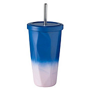 All About U Stainless Steel Ombre Straw Tumbler
