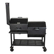 All Seasons Feeders Charcoal BBQ Grill with Firebox