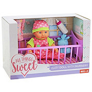 All Things Sweet Baby Doll with Nursery