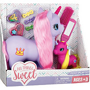 All Things Sweet Pretty Pony Horse Set