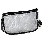 Allegro Basics Clear Zip Top Clutch