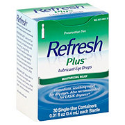 Allergan Refresh Plus Sensitive Lubricant Eye Drops