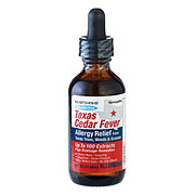 Allergena Alcohol Free Texas Cedar Fever Allergy Relief Drops