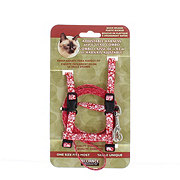 Alliance Red Cat Harness with Matching Lead