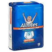 Allnites Overnight Underwear For Boys, 15 ct