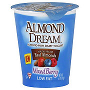 Almond Dream Non-Dairy Low Fat Mixed Berry Yogurt