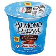 Almond Dream Non-Dairy Low Fat Strawberry Yogurt