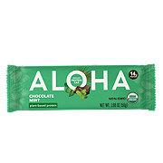 Aloha Chocolate Mint Plant Based Protein Bar