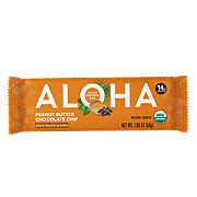 Aloha Peanut Butter Chocolate Chip Plant Based Protein Bar