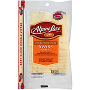 Alpine Lace 25% Reduced Fat Swiss Cheese