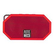 Altec Lansing Bluetooth Mini Portable Speaker H20 Red