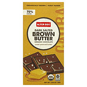 Alter Eco Dark Salted Brown Butter Chocolate Bar Candy