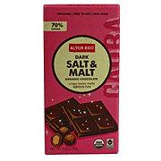 Alter Eco Organic Dark Salt & Malt Bar