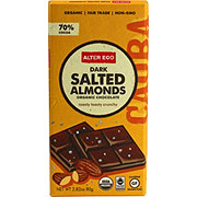 Alter Eco Organic Dark Salted Almond Bar