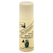 Alvera All Natural Aloe Roll-On Deodorant, Unscented