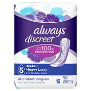 Always Discreet Incontinence Pads Maximum Long Length