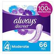 Always Discreet Incontinence Pads Moderate Absorbency