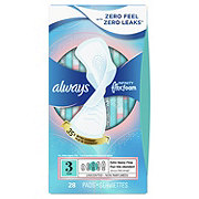 Always Infinity Unscented Size 3 Extra Heavy Sanitary Pads with Wings