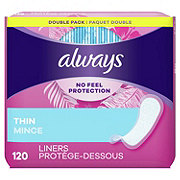 Always Thin Daily Liners Wrapped Regular