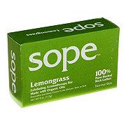 Amalgamated Sope Company Lemongrass Exfoliating Aromatherapy Bar Soap