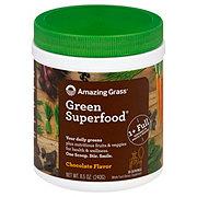 Amazing Grass Green Super Food Chocolate Drink Powder
