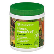 Amazing Grass Green Superfood Energy Lemon Lime Drink Powder