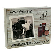 American Crew Father Knows Best Grooming Kit