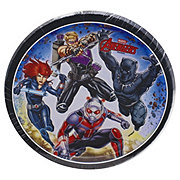 American Greetings Avengers Square Plate Assorted Character Plates
