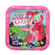 American Greetings My Little Pony Friendship Square Plate, 7 in