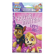 American Greetings Paw Patrol Girl Invitation & Thank You Note Combo