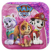 American Greetings Paw Patrol Girl Square Plate