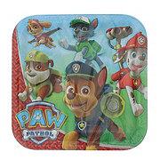 American Greetings Paw Patrol Square Plate