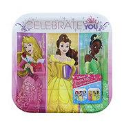 American Greetings Princess Square Plates,7in