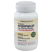 American Health Probiotic Acidophilus With Citrus Pectin Capsules