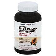 American Health Super Papaya Enzyme Plus Chewable Tablets